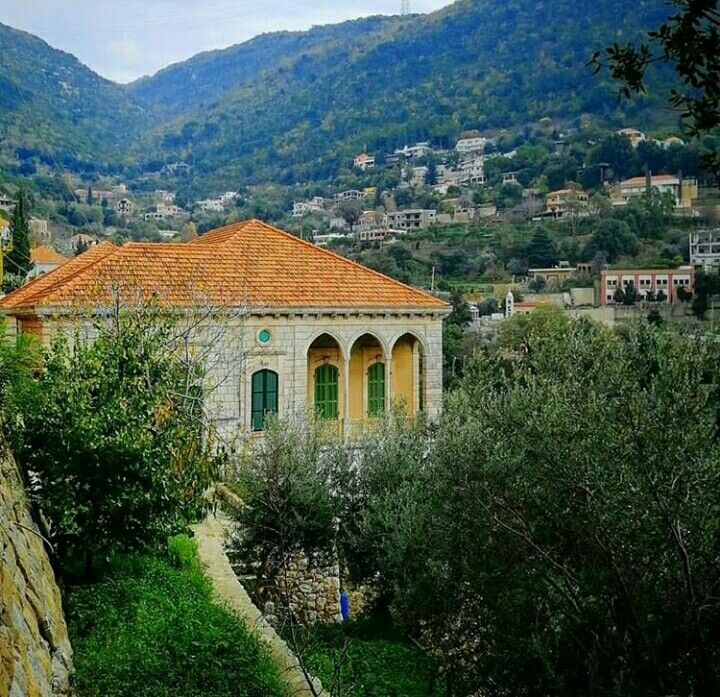 Dlebta Mont Liban Islamic Architecture House Lebanon