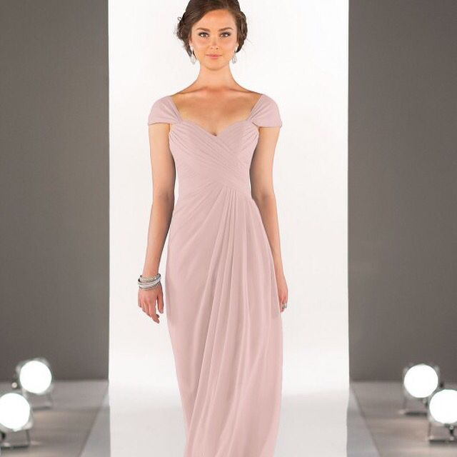 CHIFFON BRIDESMAID DRESS 8630 Elegant And Feminine Turn Up The Romance In This