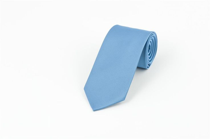 Sky Blue Self Stripe Necktie