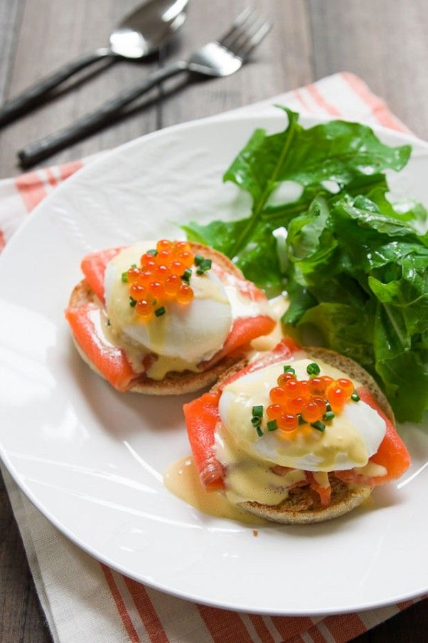 Prepare a Savory Breakfast Dish of Eggs Royale. #Recipe from PBS Food.
