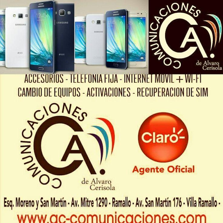 Claro AC Comunicaciones! Ramallo. BS AS. ARGENTINA