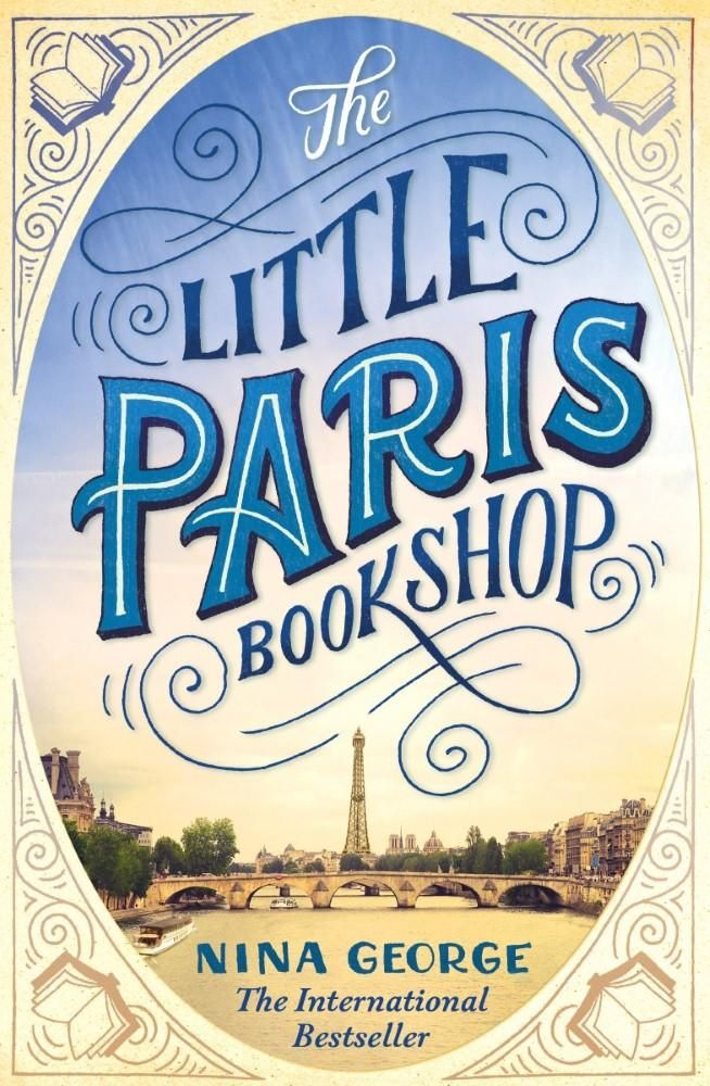 """HEPL staff review of Little Paris Bookshop by Nina George. """"If you enjoy books about books, you will love Nina George's The Little Paris Bookshop."""""""