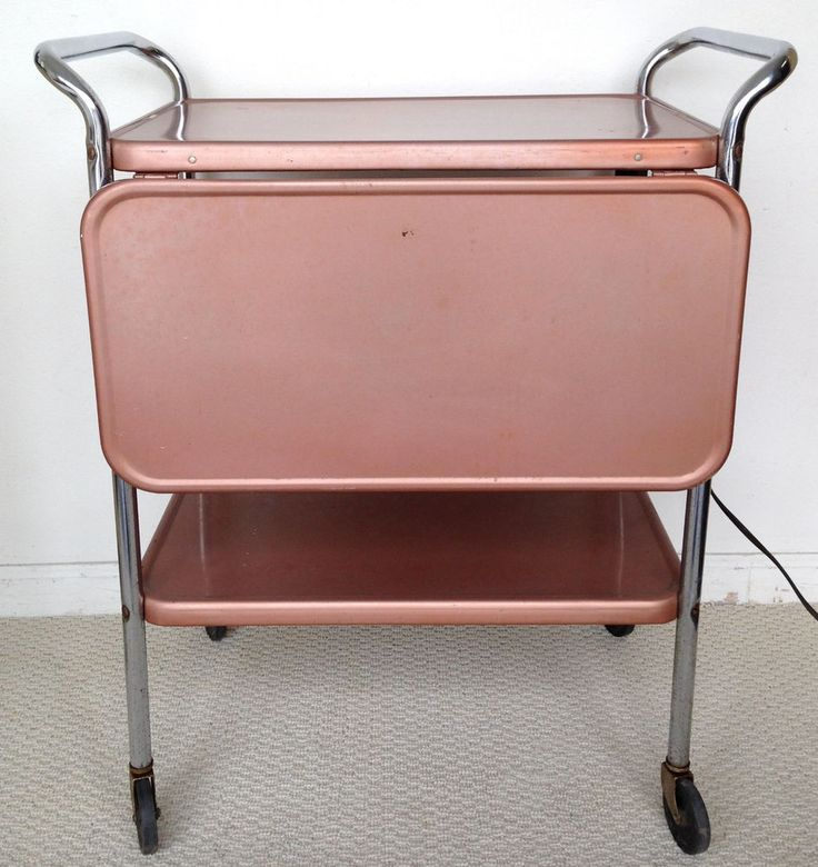 Vintage Cosco Bar Cart Mid Century Industrial Utility Cart #vintage #barcart…