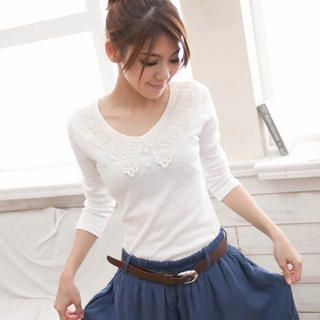 : International Ships, Buying Catworld, Asian Fashion, Free International, Fashion Items, Crochet Neckline Buttons, Buttons Tops