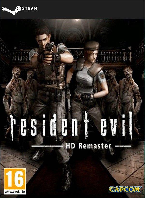 Resident Evil / biohazard HD REMASTER (STEAM KEY) DIGITAL 6,15€