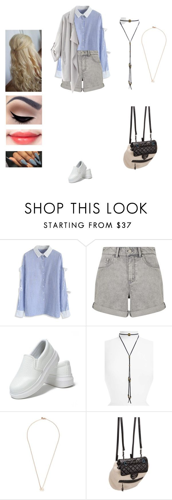 """Seventeen - fast pace"" by kyndraxsvt ❤ liked on Polyvore featuring Chicwish, WÃ¥ven, Sole Society, Shaun Leane and Chanel"
