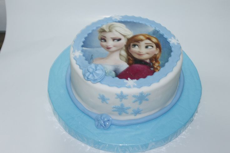 Torta Frozen 100% Comestible.