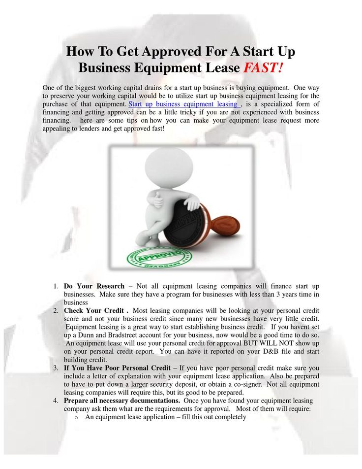 Best Startup Business Equipment Leasing Images On