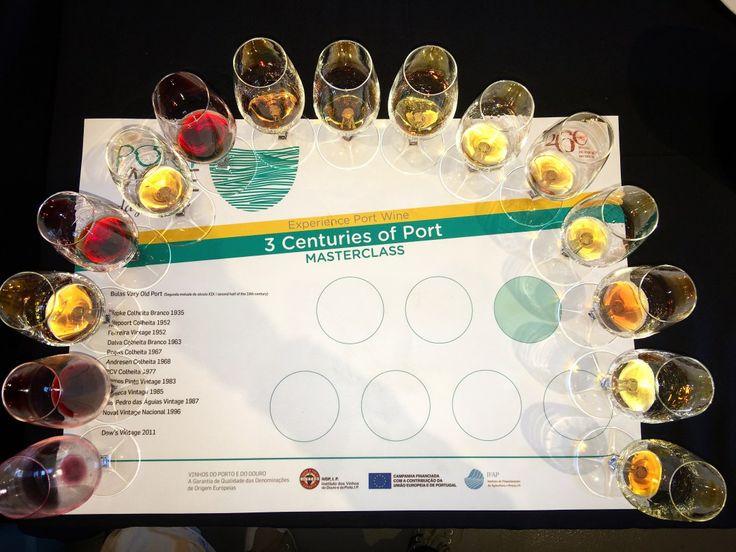 Port wine glasses 3 centuries of Port PortWineDay 2016