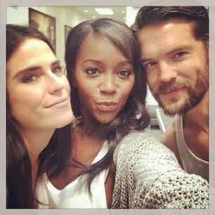 Karla Souza, Aja Naomi King, and Charlie Weber....all star in How To Get Away With Murder
