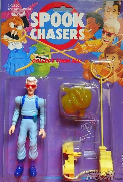 spook chasers, bootleg toys