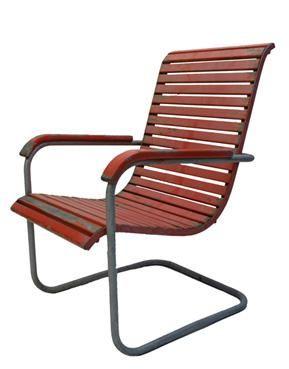 Original Bauhaus Furniture The original paint has some
