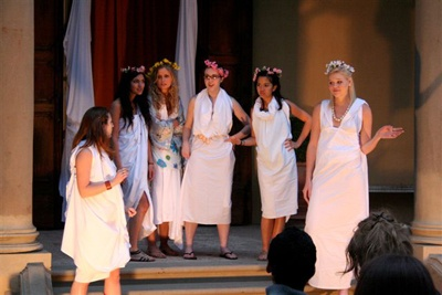A review of the war play lysistrata