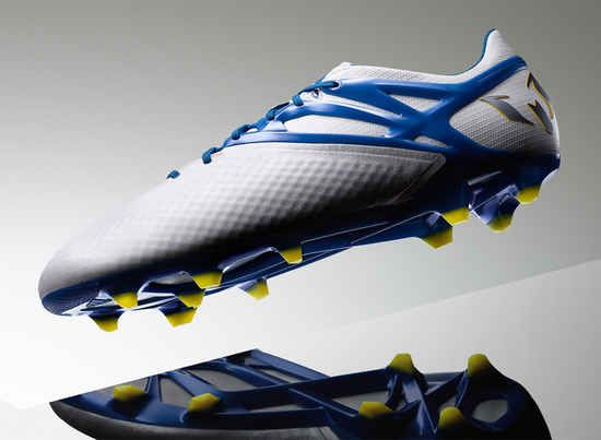 Lionel Messi's signature football boot in a new Argentinian inspired  colourway: Messi white, prime blue, core black.
