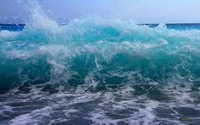 big wave in the sea