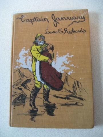 Captain January by Laura E Richards 1902 Decorated Antique Hardcover Book #FlashAttack #VintageonZibbet #ShopWithLynne - for $5.00