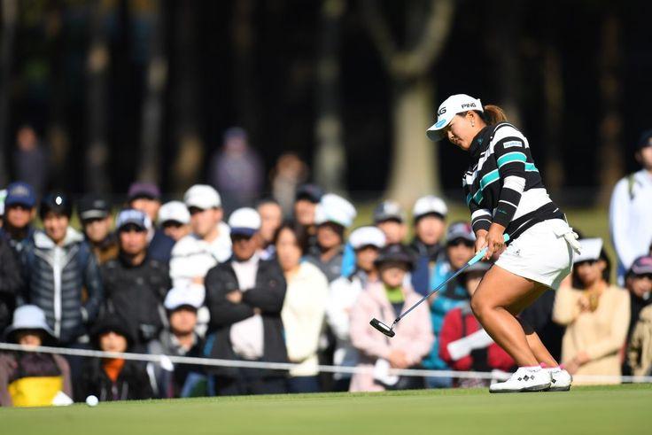 鈴木愛、賞金ランク1位へ浮上 『勝ちたかった』|LPGA|日本女子プロゴルフ協会