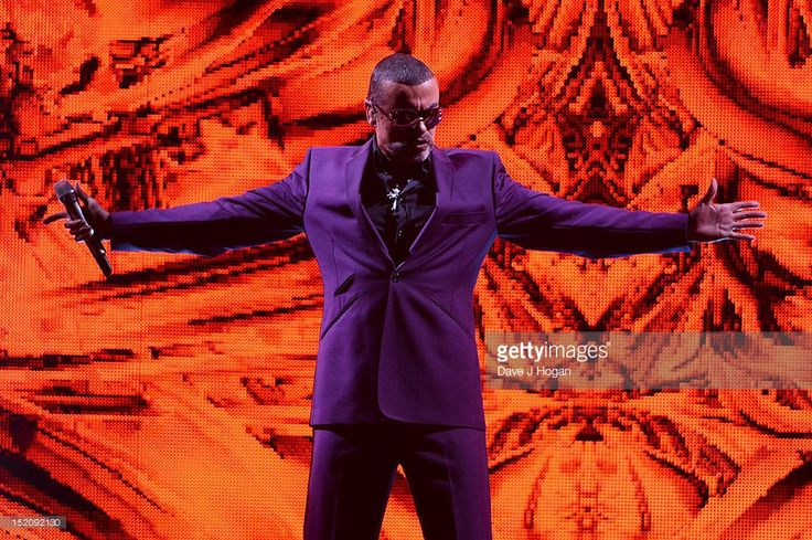 George Michael performs on his Symphonica Tour at The LG Arena on September 16, 2012 in Birmingham, England.