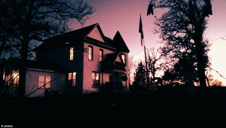This haunted castle-style house, located in the American Midwest, is nearly 170 years old....