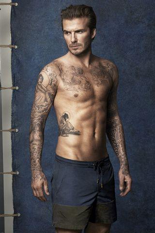 David Beckham lanza colección de trajes de baño H&M