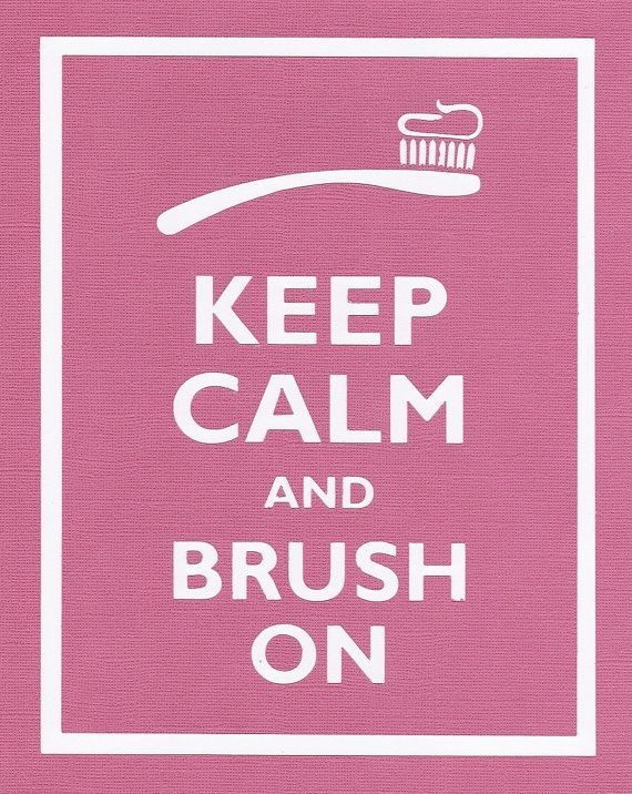 Brush everyday... Brush every night... As long as you are brushing you avoid cavities and gum disease every time!