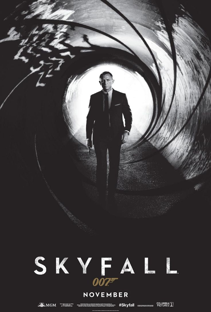 Skyfall - my number 3 film of all time.