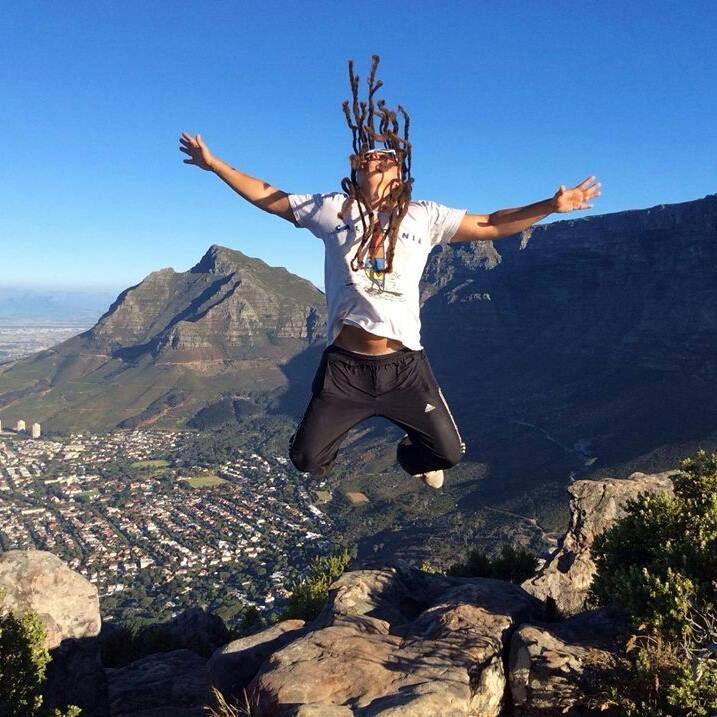 #jump #hike #lionshead #studyenglish #holiday #capetown #southafrika
