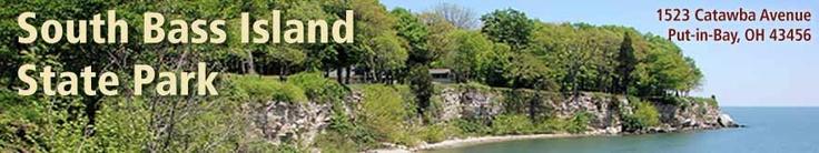 South Bass Island State Park, Put-in-Bay. Tent & RV sites, stone beach, fishing pier, watercraft & jet ski rentals