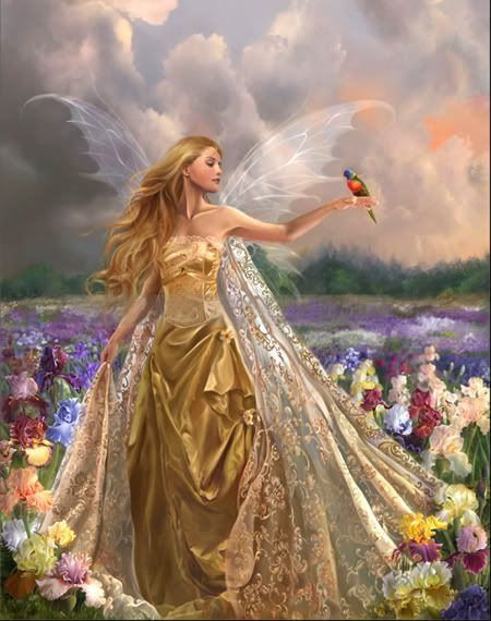 Celtic Fairy Queen...or maybe an angel...too (or both?!)