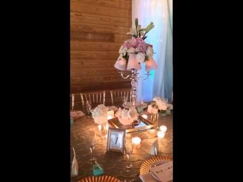 Wedding Tiffany Vintage Themed