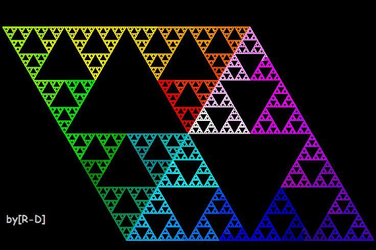 41 best images about sierpinski triangles on pinterest. Black Bedroom Furniture Sets. Home Design Ideas