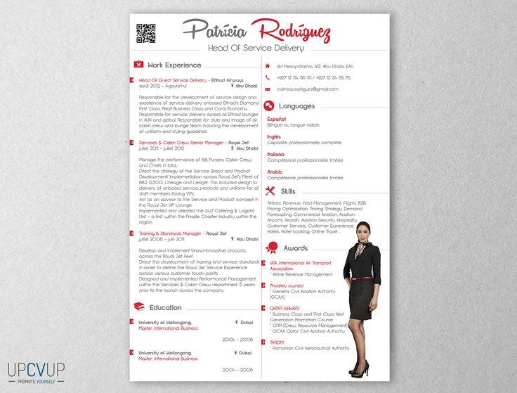 9 best images about cabin crew flight attendant résumé templates
