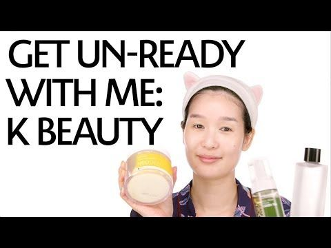 Get Unready With Me: K-Beauty Routine ft. Charlotte Cho of Soko Glam - YouTube
