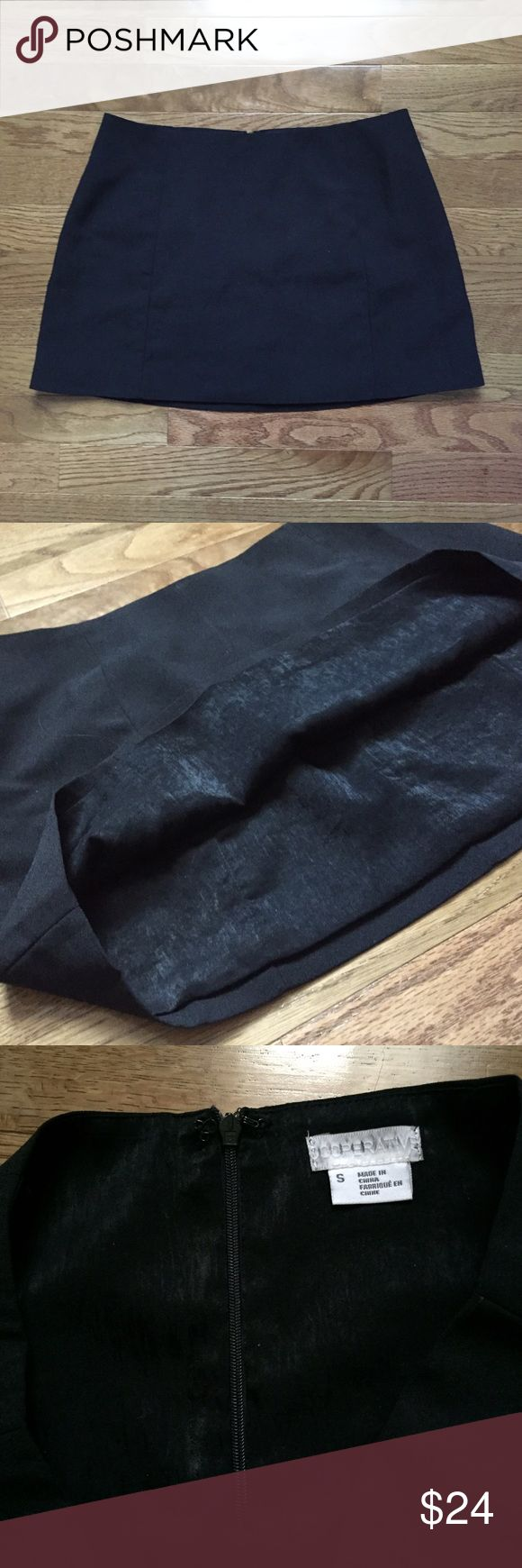 Urban Outfitters Cooperatice Clean Micro Skirt about 13 inches in length, black in color, and never worn. size small, but fits like a medium since the size on this runs larger. no trades! (about 13 inches in length) Urban Outfitters Skirts Mini