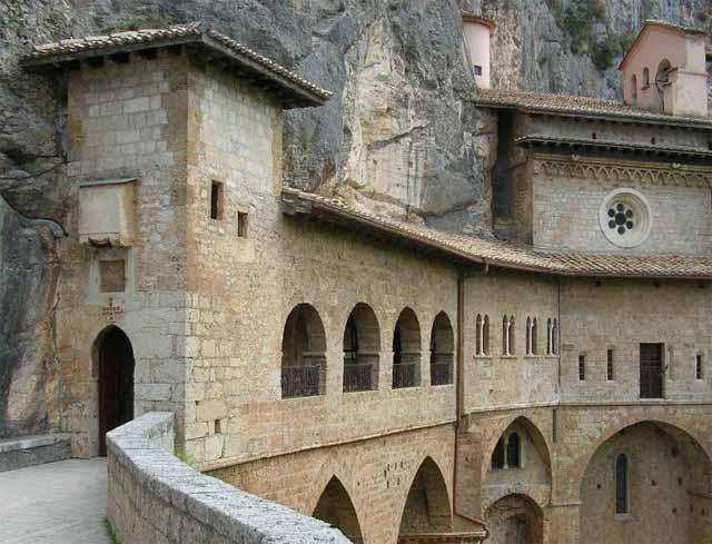 Lazio, Subiaco (Roma) - Saint Scolastica Monastery