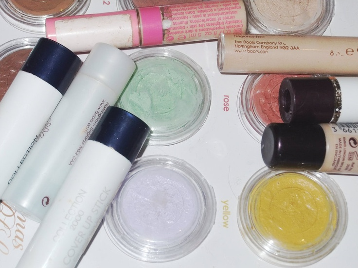 NEW BLOG POST! All About Concealer! #Coverage #Blemishes #Green #Lilac #Purple #Yellow #Flesh #Normal #Collection #Collection2000 #Rimmel #VeilCoverCream #NaturalCollection #Camouflage #FullCoverage #Skin #Redness #Makeup #Cosmetics #Blog #Blogger #Bbloggers #Fbloggers #Lblogger #Beautychat #English #British #UK #Raspberrykiss