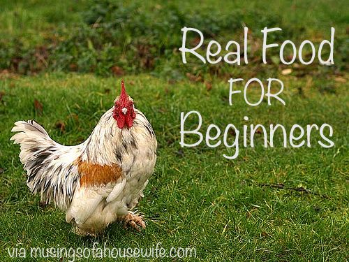 Want to eat real food and not sure where to start? This post on real food for beginners will help you prioritize food choices and gives a starting point.