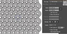Top 60 Free Adobe Illustrator Tutorials for Beginners.  Shown, Create a Repeating Pattern in Illustrator