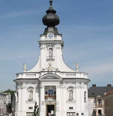 Wadowice is a special place for pilgrimages with regard to Pope Saint John Paul II. It was here in Wadowice that Karol Wojtyła, future priest, bishop, cardinal and finally pope was born. https://www.pilgrim-info.com/wadowice-basilica/