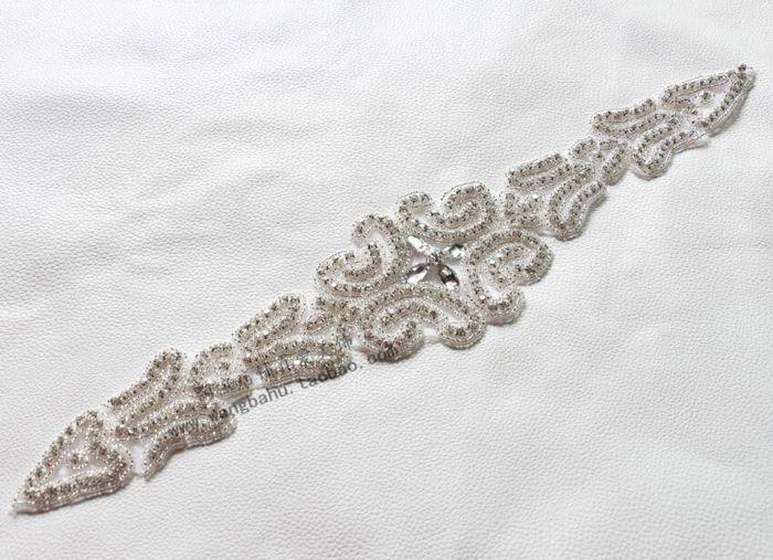 Тяжелый бисерные длинный участок ручной горный хрусталь ювелирные изделия DIY…