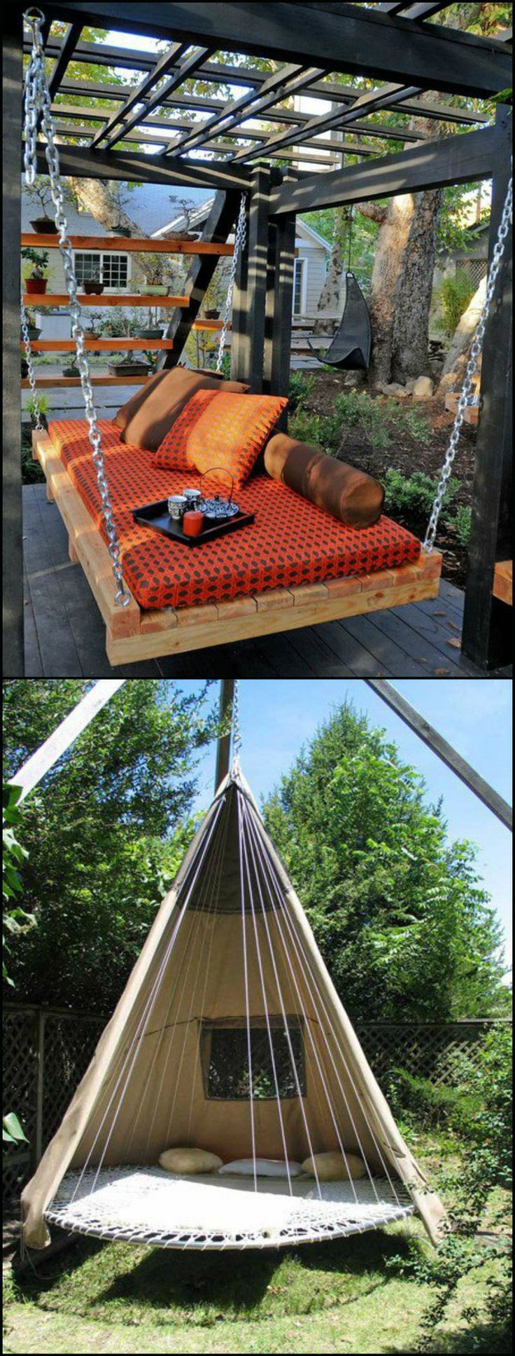 We've hand picked these swing projects to inspire you to build one. Yes! you can build one yourself, and it's not as hard as it may look. Find the swing that inspires you, and learn how to make your own! http://theownerbuildernetwork.co/a2u3 Ready to make your own swing?