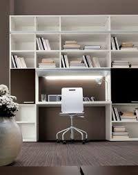 Resultado de imagen para libreria scrivania soggiorno