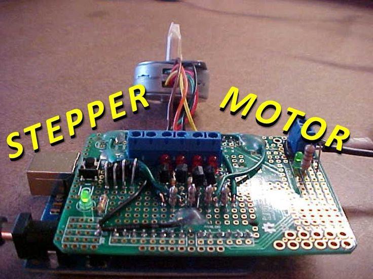 1000 ideas about stepper motor arduino on pinterest for Raspberry pi stepper motor control