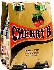Cherry B , one of the alcoholic drinks of the fifties which, like Babycham,   was aimed at women .
