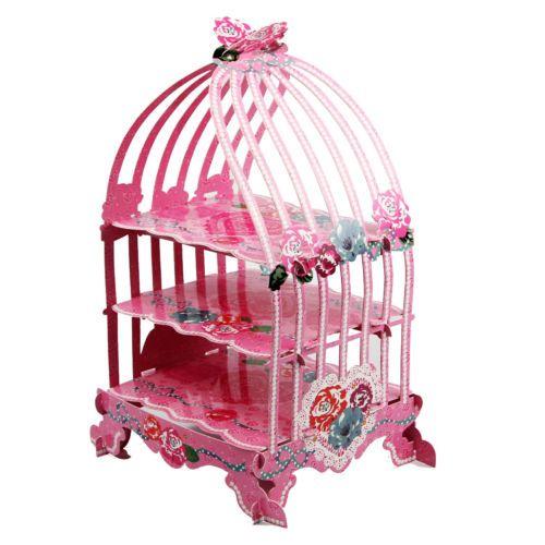 Birdcage Cardboard Cake Stand