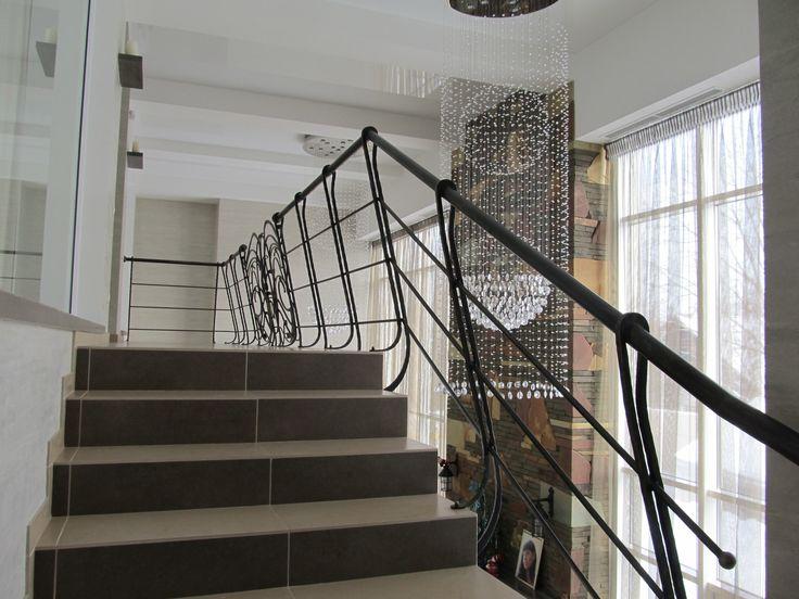 Лестница, ограждение