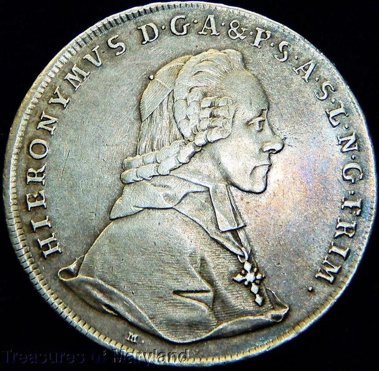 """Hieronymus 1776 AUSTRIA """"Silver Dollar"""" THALER sku #RX19"""