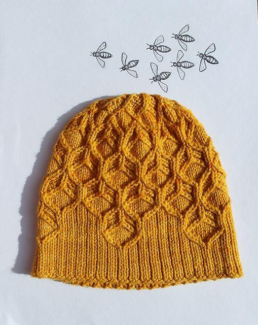 Ravelry: Beeswax hat pattern by Amy van de Laar