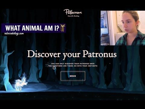 Taking the Pottermore Patronus Quiz! What Animal Am I?