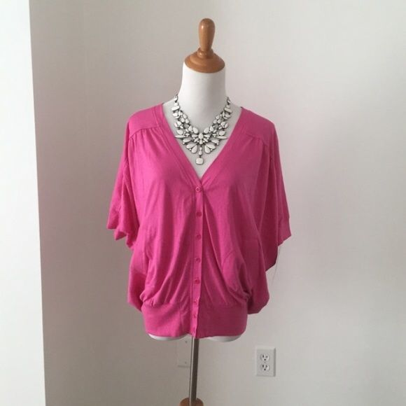 French Connection pink batwing top No trades or Paypal please ❤️ French Connection Tops Blouses